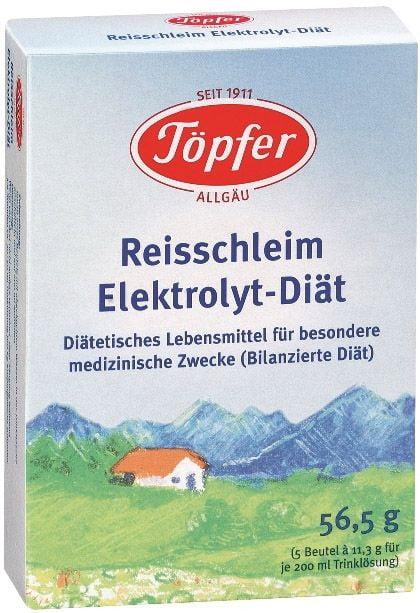 Topfer Detská ryžová elektrolytická diéta od 4. mesiaca