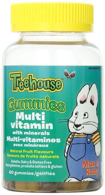 Detský Multivitamín s minerálmi Gummies Webber Naturals | výživový doplnok | vitamín