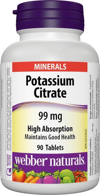 Draslík 99 mg Webber Naturals | výživový doplnok | vitamín