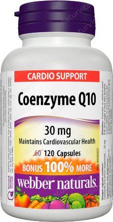 Koenzým Q10 30 mg BONUS Webber Naturals | výživový doplnok | vitamín