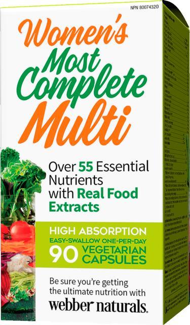 Kompletný multivitamín pre ženy Webber Naturals | výživový doplnok | vitamín