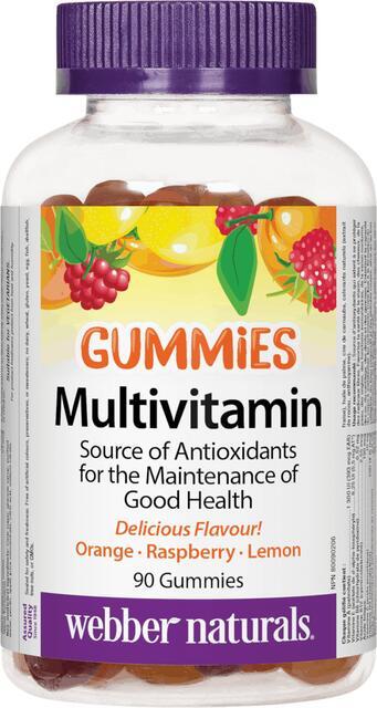 Multivitamín Gummies Webber Naturals | výživový doplnok | vitamín