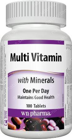 Multivitamín s Minerálmi Webber Naturals   výživový doplnok   vitamín