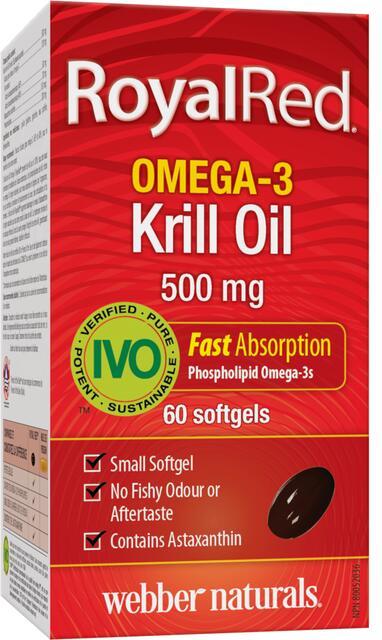 Omega-3 Krill Olej 500 mg Webber Naturals   výživový doplnok   vitamín