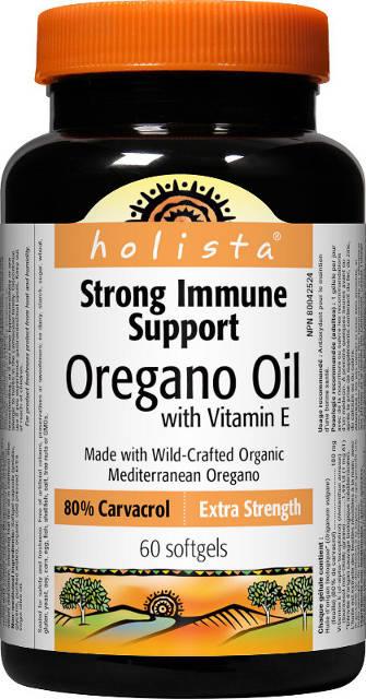 Oreganový olej 80% karvakrol Webber Naturals/Holista   výživový doplnok   vitamín