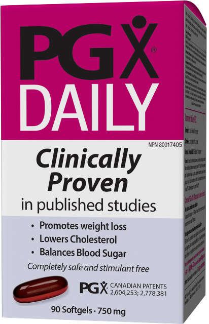 PGX DAILY® Riadenie hmotnosti Webber Naturals | výživový doplnok | vitamín