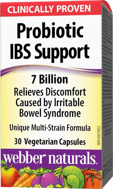Probiotiká 7 miliárd IBS Webber Naturals | výživový doplnok | vitamín