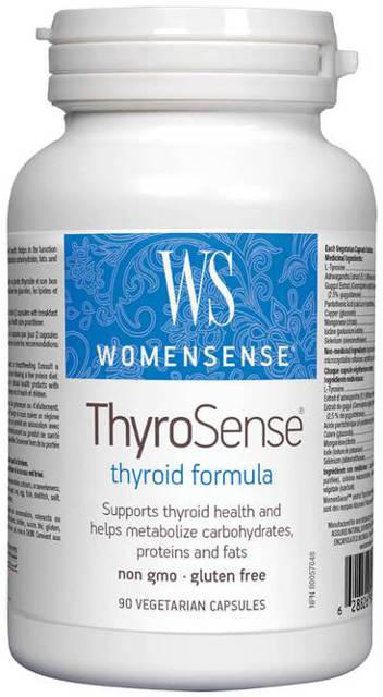 Štítna žľaza WomenSense Webber Naturals | výživový doplnok | vitamín
