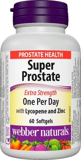 Saw Palmetto (Prostata) 320 mg, lycopén, zinok, selén Webber Naturals | výživový doplnok | vitamín