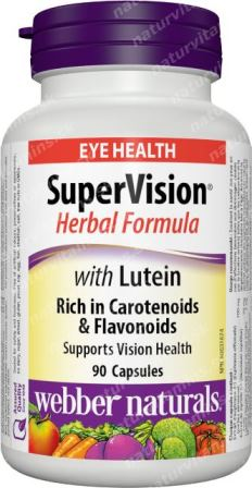 SuperOči multivitamín Webber Naturals | výživový doplnok | vitamín