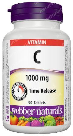 Vitamín C 1000 mg časované Webber Naturals   výživový doplnok   vitamín