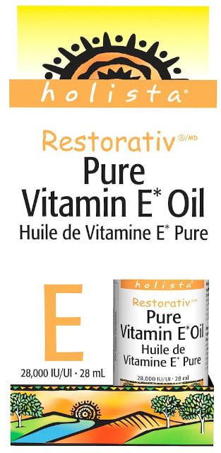 Vitamín E olej 28.000 IU 100% čistý   vitamín   Holista